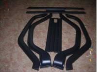 Молдинги узкие УАЗ-469\Хантер (10 деталей)   АБС