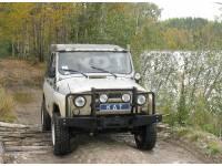 Передний силовой бампер - УАЗ Hunter KDT